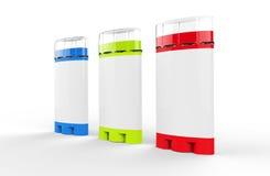 Deodorant Sticks - Colors Stock Images