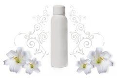 Deodorante bianco Fotografia Stock