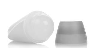 Deodorante a sfera in bianco Fotografia Stock Libera da Diritti