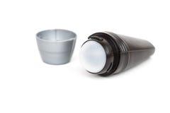Deodorante a sfera degli uomini isolato Fotografia Stock