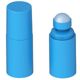 deodorantrulle stock illustrationer