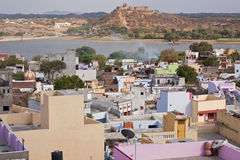 Deogarh-Landschaft Stockfoto