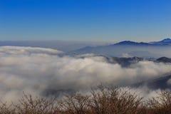 Deogyusan山 库存照片