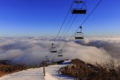 Deogyusan-Berge Lizenzfreies Stockfoto