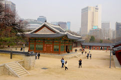 Deoksugung Palace Royalty Free Stock Photography