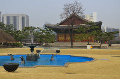 , Deoksugung Palace Royalty Free Stock Photography