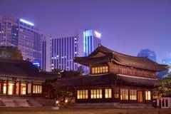 Deoksugung Palace. Traditional house in Deoksugung Palace palace, seoul Royalty Free Stock Photo