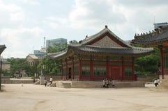 Deoksugungs-Palast in Seoul Lizenzfreie Stockfotos