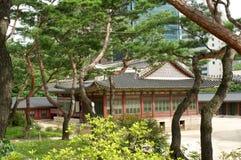 Deoksugungs-Palast in Seoul Lizenzfreie Stockbilder