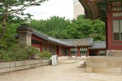 Deoksugungs-Palast in Seoul Lizenzfreies Stockfoto