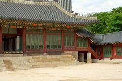 Deoksugungs-Palast in Seoul Stockbilder