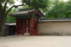 Deoksugungs-Palast in Seoul Lizenzfreies Stockbild