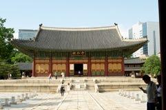 Deoksugungs-Palast in Seoul Stockfoto