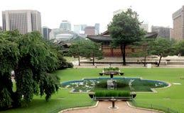 Deoksugungs-Palast, Seoul, Südkorea Lizenzfreie Stockbilder