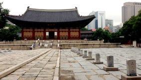 Deoksugungs-Palast, Seoul, Südkorea Stockfoto