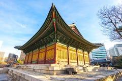 Deoksugungs-Palast in Seoul, Südkorea Stockbilder