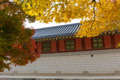 Deoksugungs-Palast in Seoul, Südkorea Stockfoto