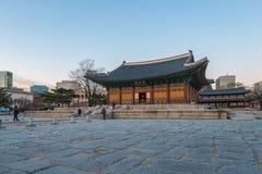 Deoksugungs-Palast in Seoul-Stadt, Südkorea Stockfoto