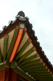 Deoksugungs-Palastdach in Seoul Lizenzfreies Stockfoto
