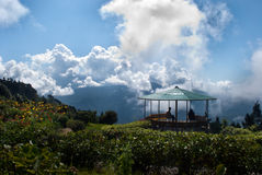 Deolo-Hügelstandpunkt Stockbilder