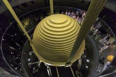 Deoscillator av det Taipei 101 tornet Arkivfoto