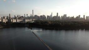 Depósito de Central Park en Nueva York metrajes