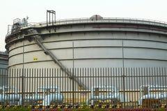 Depósito de combustível Fotografia de Stock