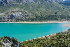 Depósito de Cuber en Sierra de Tramuntana, Mallorca, España foto de archivo libre de regalías