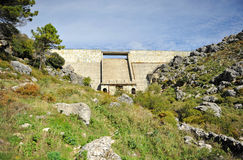 Depósito de Fresnillo, parque nacional de Sierra Grazalema, Cádiz, España imagenes de archivo