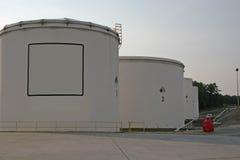 Depósito de gasolina Imagen de archivo libre de regalías