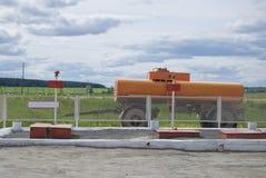 Depósito de gasolina Imagenes de archivo