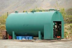 Depósito de gasolina fotografía de archivo libre de regalías