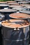 depósito de gasolina de 200 litros Fotografia de Stock