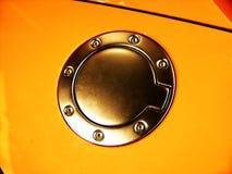 Depósito de gasolina del coche Imágenes de archivo libres de regalías