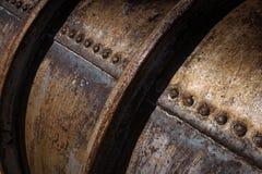 Depósito de gasolina do metal Imagem de Stock Royalty Free