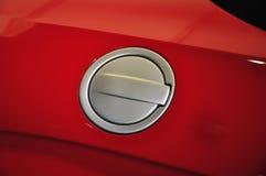 Depósito de gasolina en el coche Imágenes de archivo libres de regalías