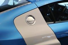 Depósito de gasolina en el coche Imagen de archivo libre de regalías
