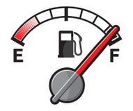 Depósito de gasolina lleno Fotografía de archivo libre de regalías