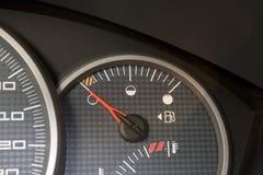 Depósito de gasolina vacío Fotos de archivo libres de regalías