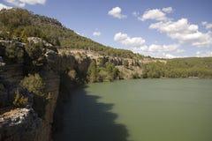 Depósito de Toba, Cuenca, España Fotografía de archivo libre de regalías