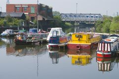Depósito do canal, Inglaterra Fotos de Stock