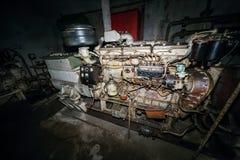 Depósito do partido comunista e abrigo nucleares secretos - motor Fotografia de Stock