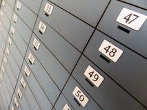 Depósito en un banco Fotografía de archivo libre de regalías