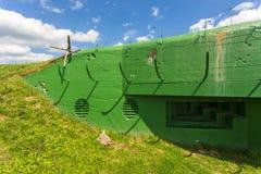 Depósito MRU das fortificações da segunda guerra mundial, Miedzyrzecz, Polônia imagem de stock