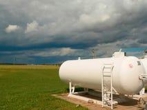 Depósitos de gas Fotos de archivo