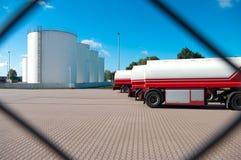 Depósitos de gasolina Fotografía de archivo