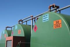 Depósitos de gasolina Fotos de archivo