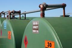 Depósitos de gasolina Foto de Stock