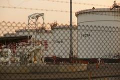 Depósitos de gasolina Imagenes de archivo