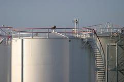 Depósitos de gasolina Foto de Stock Royalty Free
